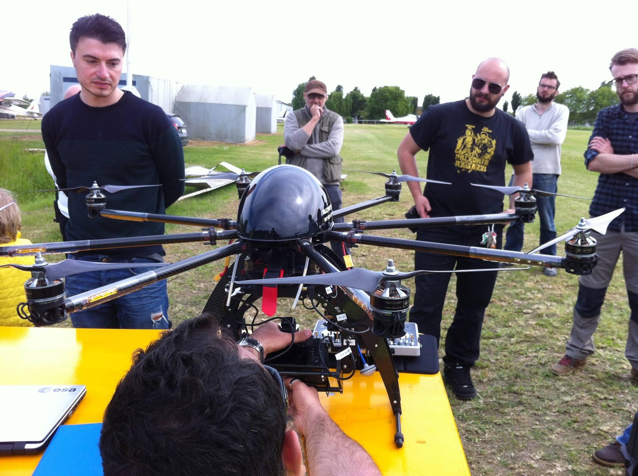 Didattica con droni: campo di volo Pozzonovo