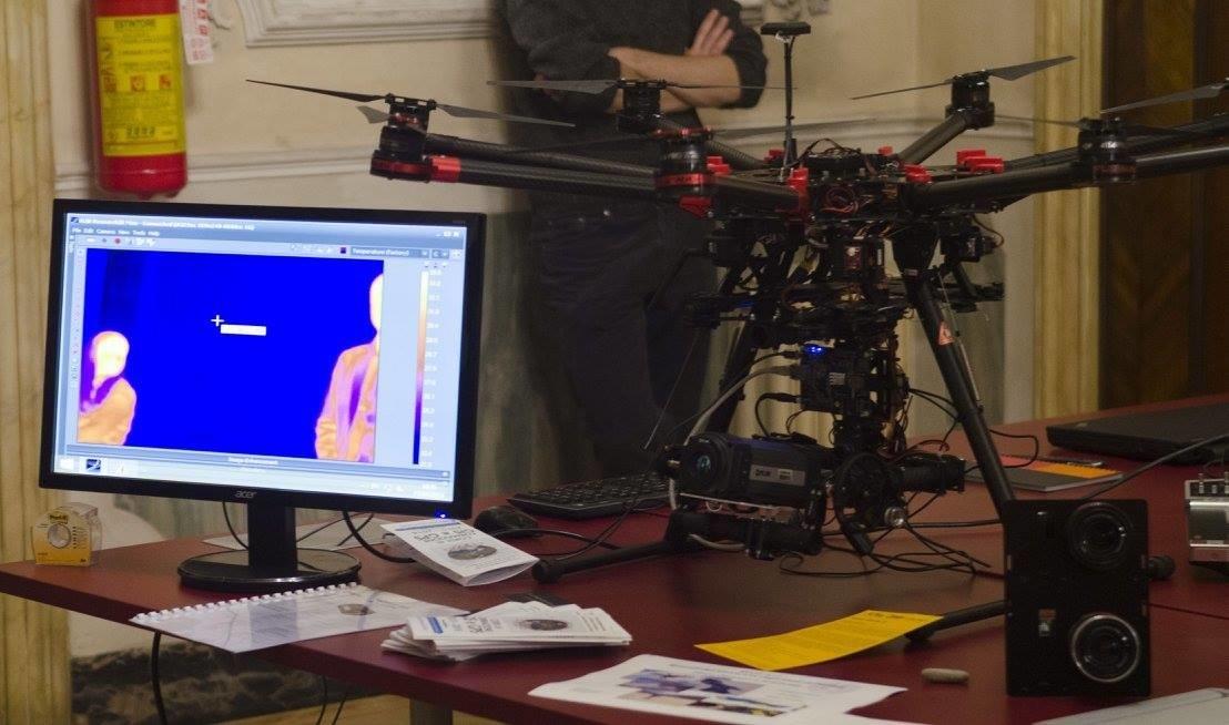 Restituzione delle riprese da drone