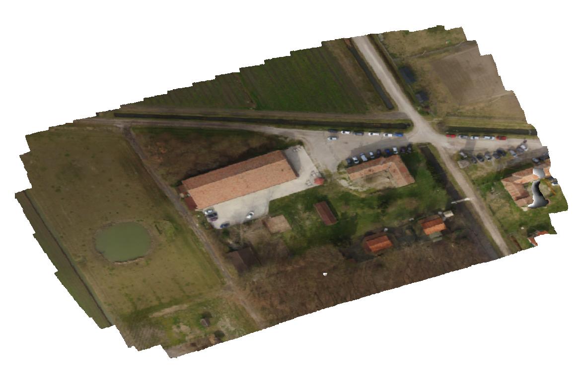 Restituzione del rilievo con drone
