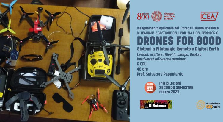 Locandina Drones4Good2021